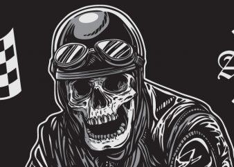 Biker X t shirt template