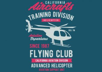 California Aircrafts Tshirt Design buy t shirt design