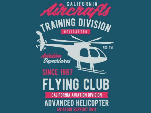 California Aircrafts BTD 600x450 - California Aircrafts Tshirt Design buy t shirt design
