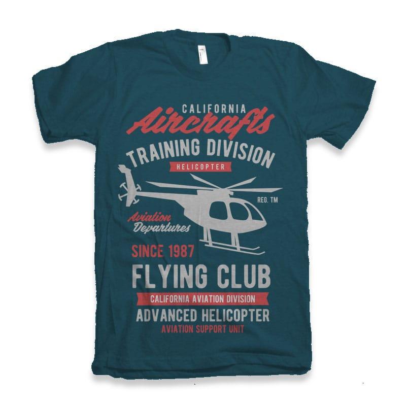 California Aircrafts Tshirt Design buy t shirt design