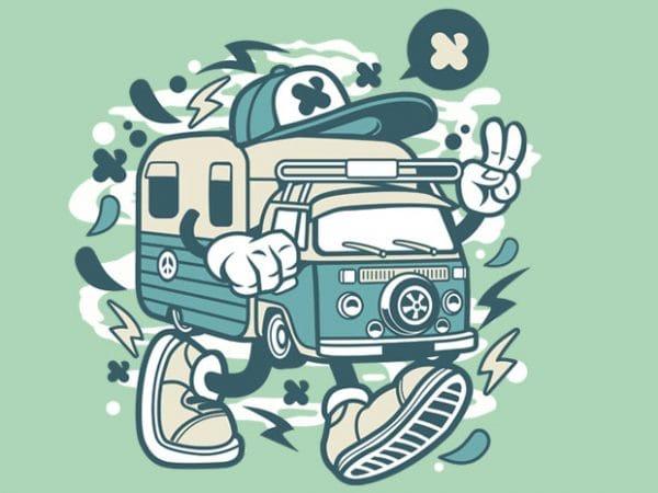 Camper Van buy t shirt design
