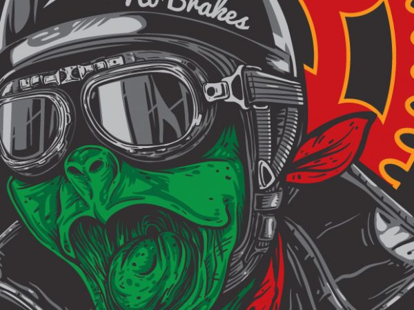 Captain Fast - Turtle Biker buy t shirt design