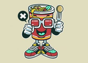 Cup Noodle buy t shirt design