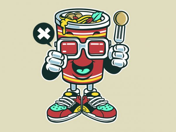 Cup Noodle buy t shirt design