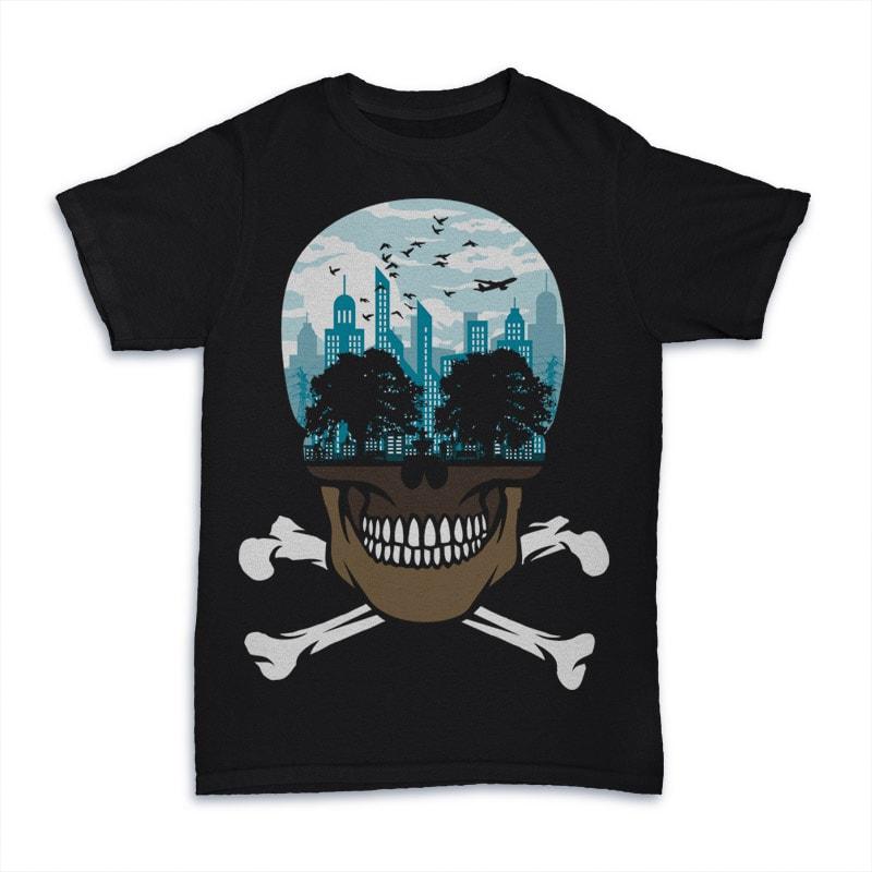 Death City buy t shirt design