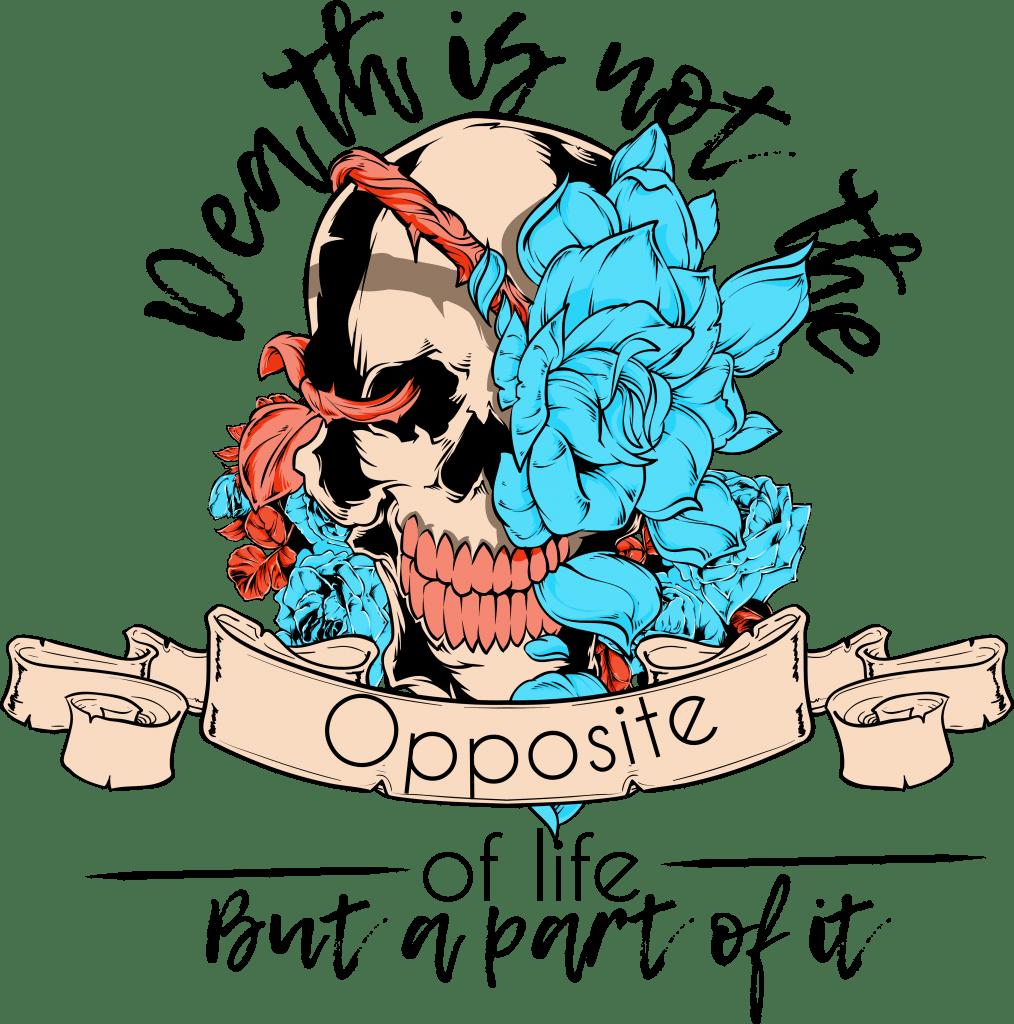 Death part of life buy t shirt design