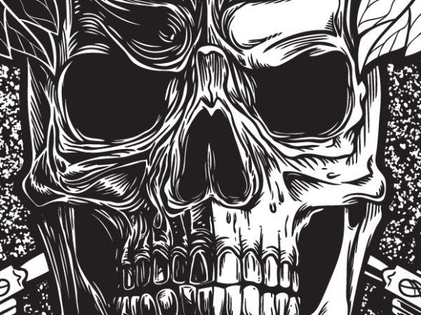 Empty Soul – Skull vector clipart