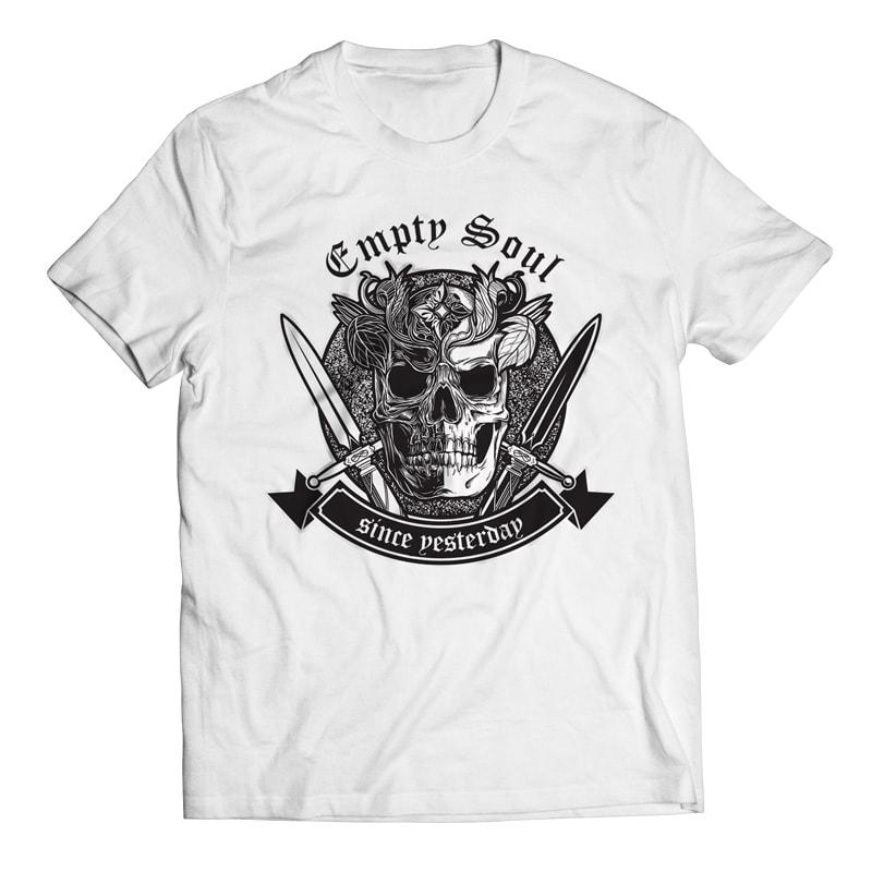 Empty Soul - Skull buy t shirt design