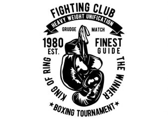 Fighting Club buy t shirt design