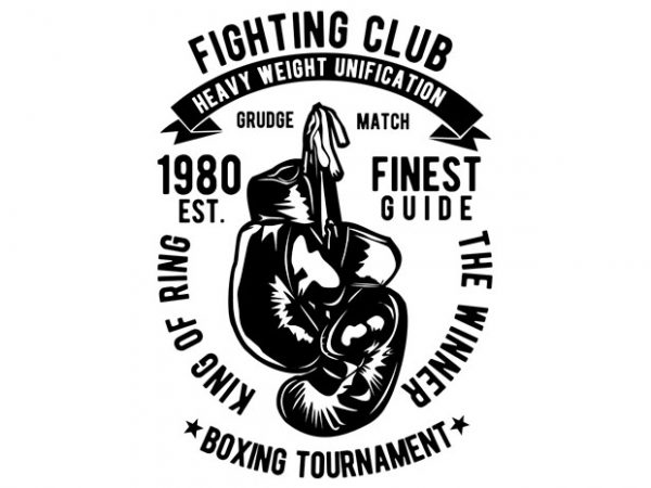 Fighting Club buy t shirt design