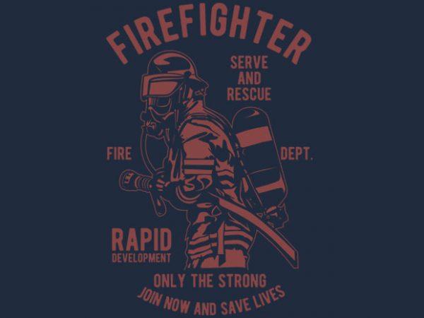 Firefighter Dept tshirt design buy t shirt design