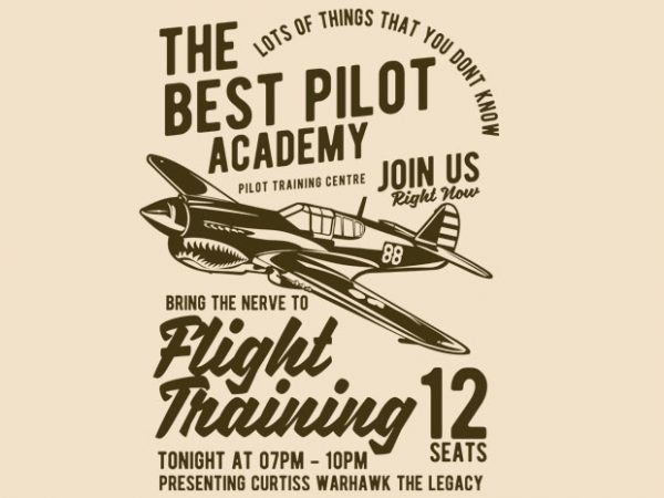 Flight Training BTD 600x450 - Flight Training t-shirt design buy t shirt design