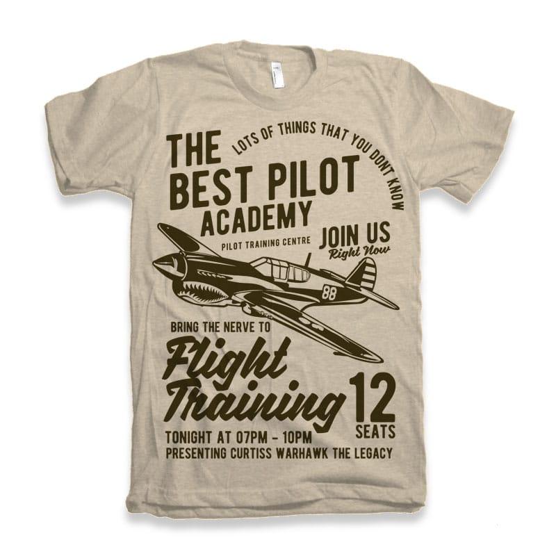 Flight Training t-shirt design buy t shirt design