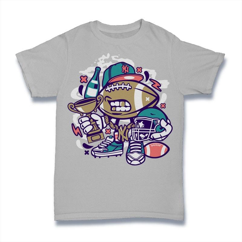 Football Champion buy t shirt design