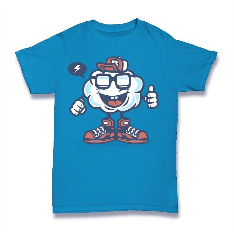 Funky Cloud buy t shirt design
