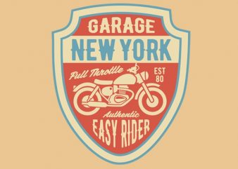 Garage New York tshirt design buy t shirt design