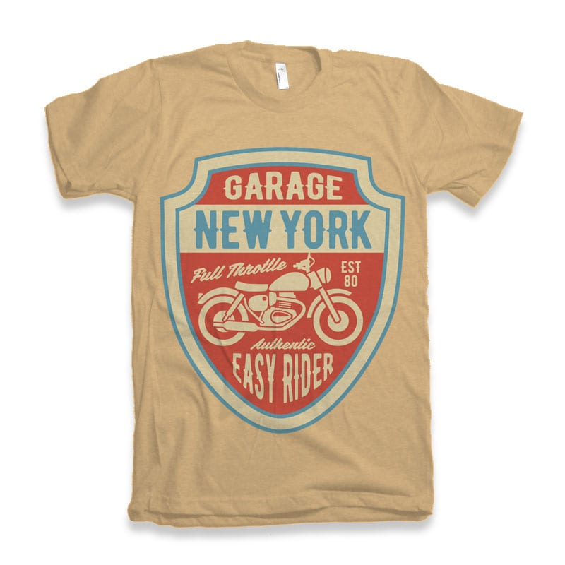 Garage New York tshirt design buy t shirt design