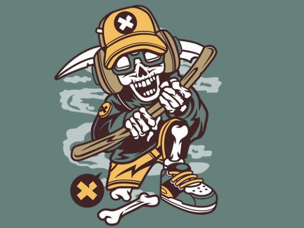 Hip Reaper graphic t shirt