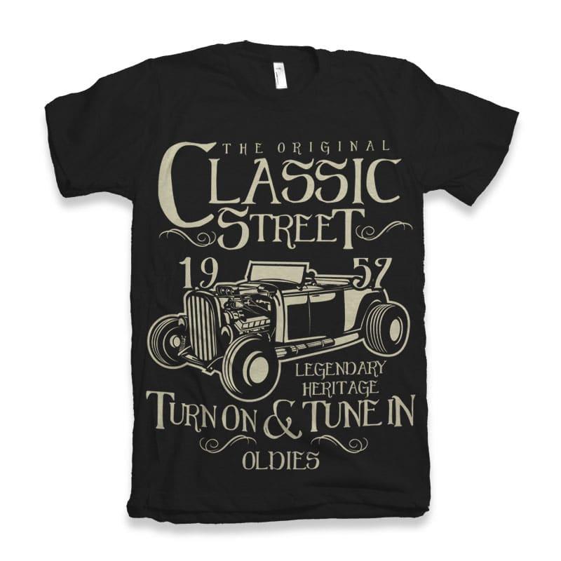 Hot Rod Classic buy t shirt design