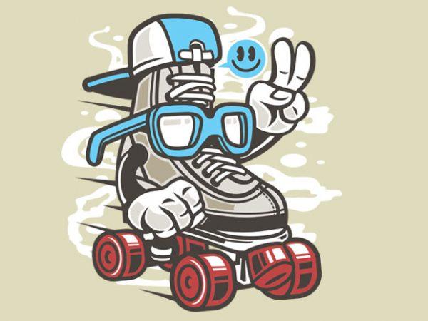 In Line Skater buy t shirt design