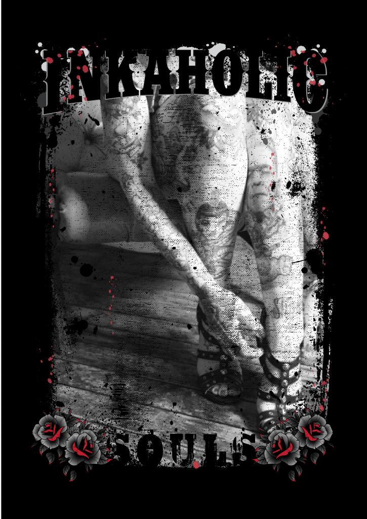 Inkaholic Souls Tattoo Tshirt Design buy t shirt design