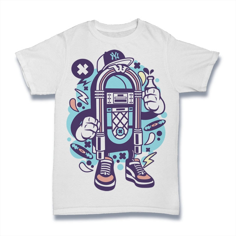 Juke Box buy t shirt design