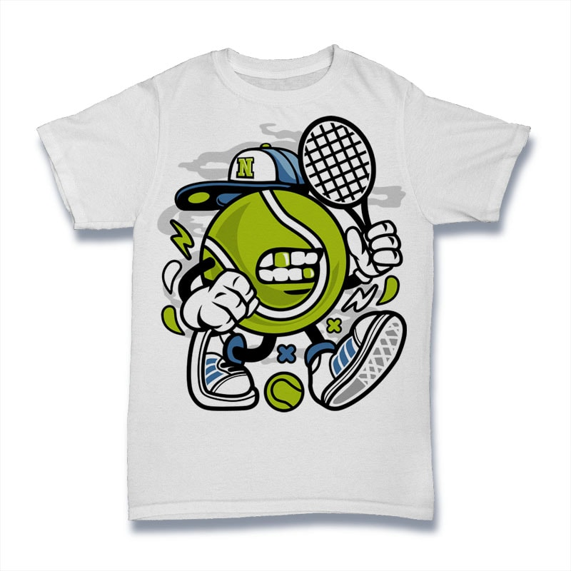 Let's Play Tennis buy t shirt design