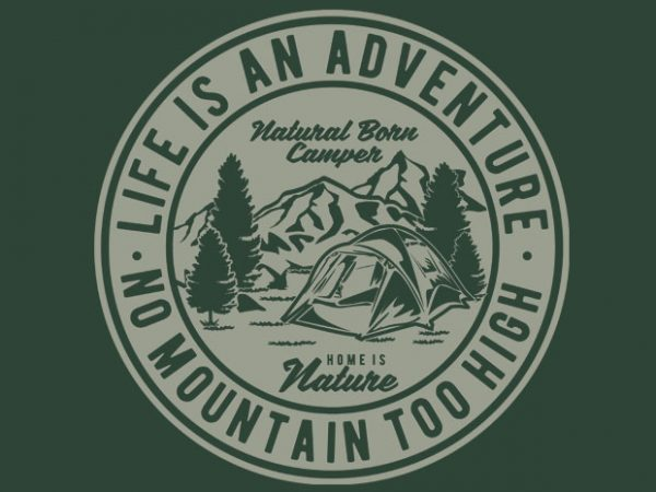 Life Is An Adventure BTD 600x450 - Life Is An Adventure tshirt design buy t shirt design