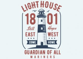 Light House t-shirt design
