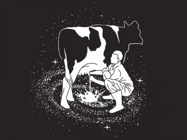 Milky Way buy t shirt design