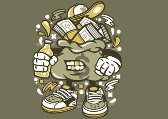 Money Bastard t shirt designs for sale
