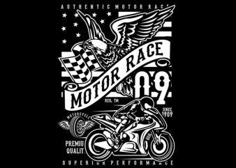 Motor Race 09 t shirt designs for sale