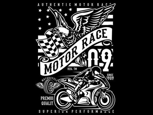 Motor Race 09 buy t shirt design