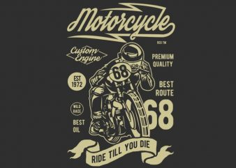 Motorcycle Custom Engine t shirt designs for sale
