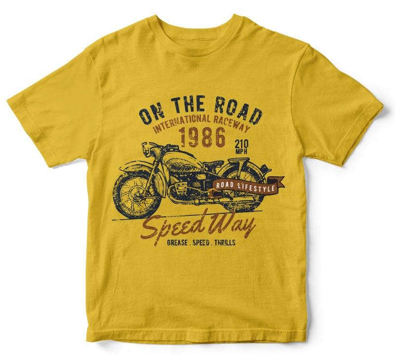 motorcycle tshirt design buy t shirt design