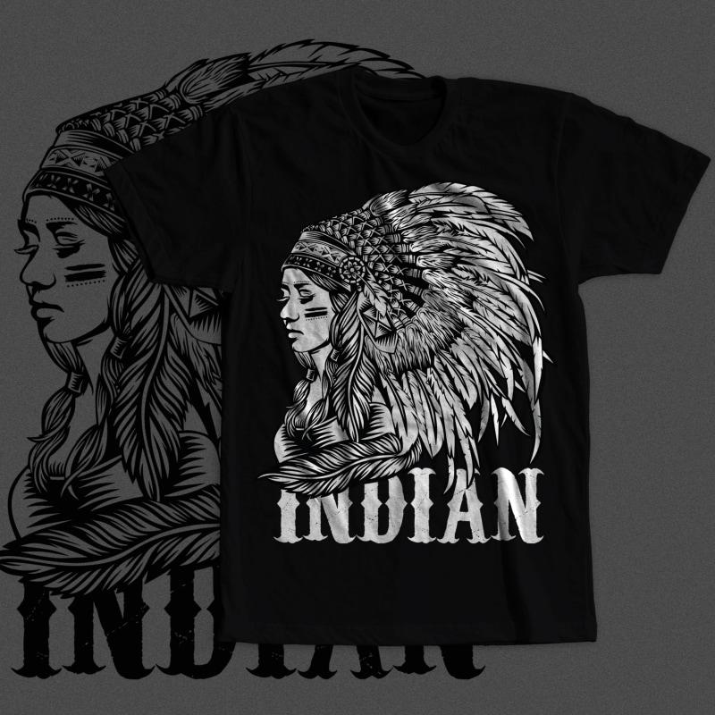 Native American Women buy t shirt design