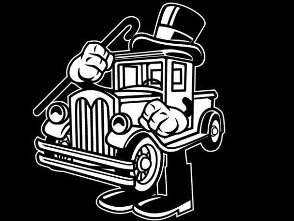 Old Truck Preview 600x450 - Old Truck buy t shirt design