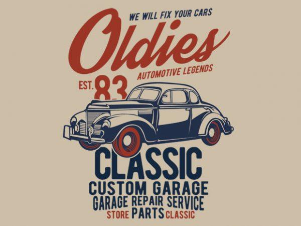 8ad3e8fc Oldies- Best T-shirt Design