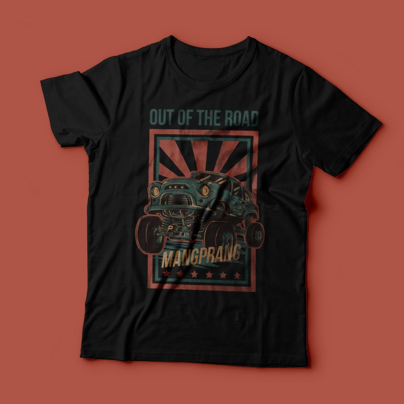 Out of the Road buy t shirt design