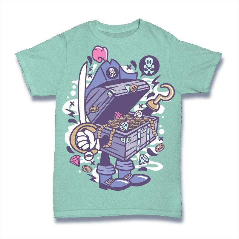 Pirate's Treasure buy t shirt design