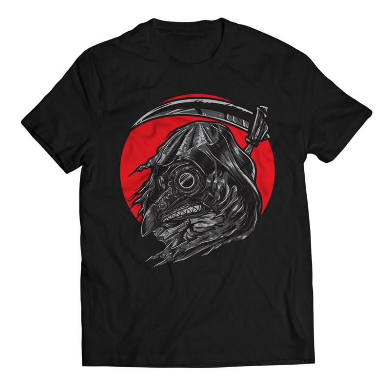 Reaper Bird - Gas Mask buy t shirt design