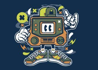 Retro Gamer t shirt design online