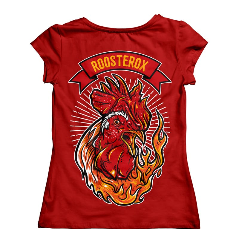 Roosterox buy t shirt design