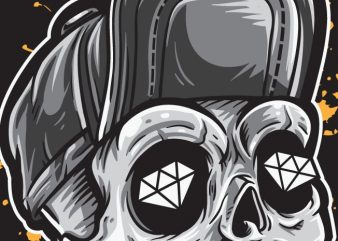 Skull and Diamonds buy t shirt design