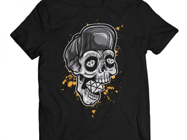 Skull T-shirt Design Templates buy t shirt design
