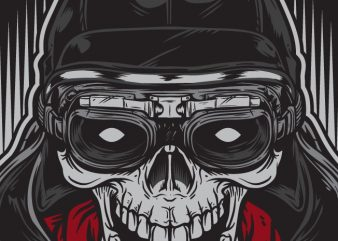 Skull Racer - Racing buy t shirt design