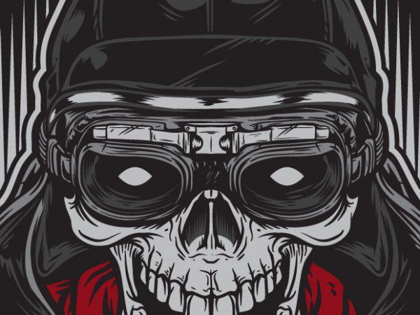 skull racer racing buy t shirt designs