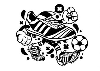 Soccer buy t shirt design