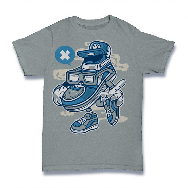 Street Shoe Bastard buy t shirt design