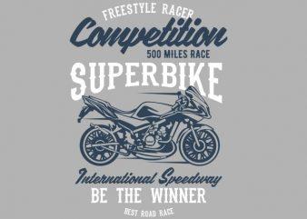 Superbike Competition buy t shirt design